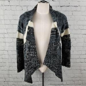 GINGER JAR | waterfall knit sweater open cardigan